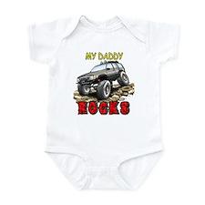 My Daddy Rocks Infant Bodysuit