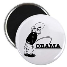 "Piss on Obama 2.25"" Magnet (100 pack)"