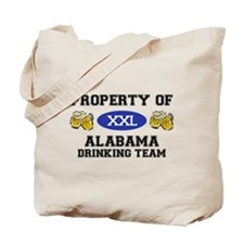 Property of Alabama Drinking Team Tote Bag