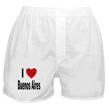 I Love Buenos Aires Argentina Boxer Shorts