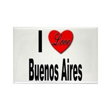 I Love Buenos Aires Argentina Rectangle Magnet