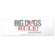 Big Dogs Rule Bumper Sticker (10 pk)