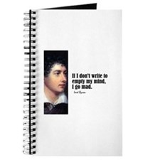 "Byron ""Don't Write"" Journal"