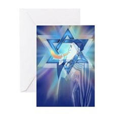 Sound the Shofar Greeting Card