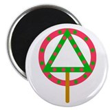 "Soberfolk Christmas 2.25"" Magnet (10 pack)"