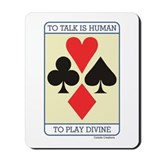 Cards Divine - Mousepad