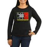 Blackjack Women's Long Sleeve Dark T-Shirt