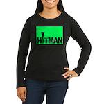 The Hitman Women's Long Sleeve Dark T-Shirt