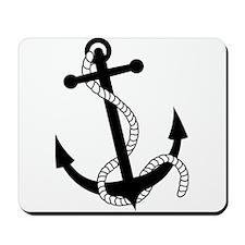 Rockabilly Tattoo Anchor Mousepad