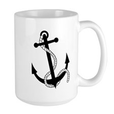 Rockabilly Tattoo Anchor Mug