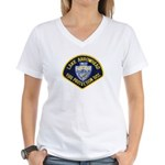 Lake Arrowhead FD Women's V-Neck T-Shirt