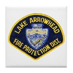Lake Arrowhead FD Tile Coaster