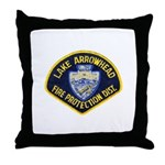 Lake Arrowhead FD Throw Pillow