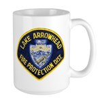 Lake Arrowhead FD Large Mug