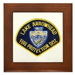 Lake Arrowhead FD Framed Tile