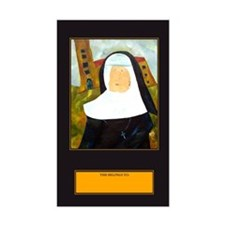 NUN WITH A PEARL EARRING Decal