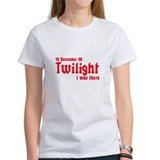 Twilight I was there UK Tee