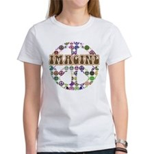 Imagine Peace On Earth Tee
