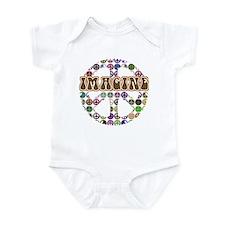 Imagine Peace On Earth Infant Bodysuit