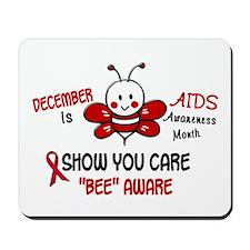 AIDS Awareness Month 4.1 Mousepad