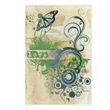 Green Love Chakra Postcards (Package of 8)