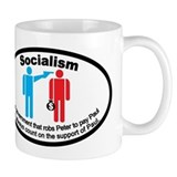 Socialism &amp;quot;Robs Peter To Pay Paul&amp;quot; Mug