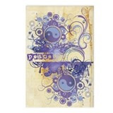 Purple Peace Chakra Postcards (Package of 8)