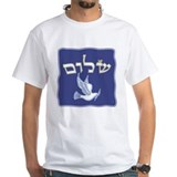 Shalom w/Dove /Bg (Hebrew) Shirt