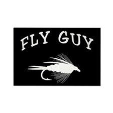 FLY GUY Rectangle Magnet