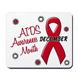 AIDS Awareness Month 1.1 Mousepad