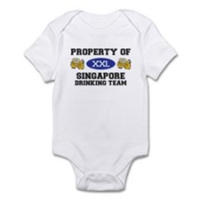 Property of Singapore Drinking Team Infant Bodysui