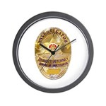L.A. D.A. Investigator Wall Clock
