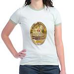 L.A. D.A. Investigator Jr. Ringer T-Shirt