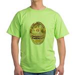 L.A. D.A. Investigator Green T-Shirt