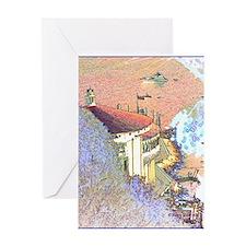 Kuki Cat Catalina Greeting Card