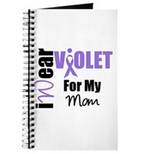 I Wear Violet Ribbon Journal