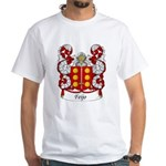 Feijo Family Crest White T-Shirt