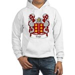 Feijo Family Crest Hooded Sweatshirt
