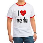 I Love Instanbul Turkey Ringer T
