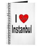 I Love Instanbul Turkey Journal