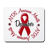 AIDS Awareness Month 1.3 Mousepad