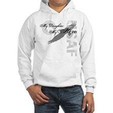 My Daughter My Hero USAF Hoodie