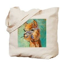 Alpaca Portrait - Tote Bag