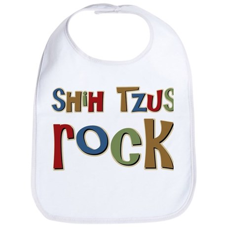 Shih Tzus Rock Dog Owner lover Bib