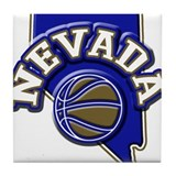 Nevada Basketball Tile Coaster