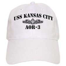 USS KANSAS CITY Baseball Cap