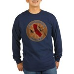 California Birder Long Sleeve Dark T-Shirt