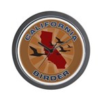 California Birder Wall Clock