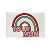 Your Mom Rainbow Rectangle Magnet (10 pack)