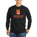 Beer Helping Men Fish Long Sleeve Dark T-Shirt
